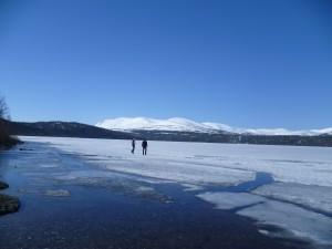 Johny se Štěpou na ledě