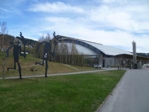 Olympijský stadion v Lillehammeru